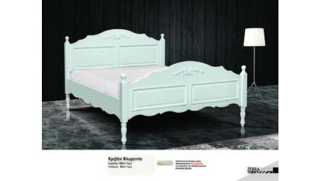 Διπλό Κρεβάτι ξύλινο FLORENTIA