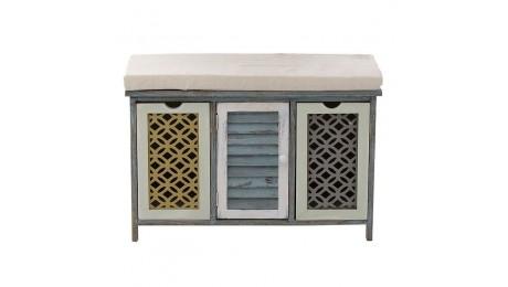 Ντουλάπι ξύλινο με καθισμα 3-50-64-0051