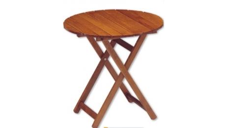 Tραπέζι στρογγυλο οξιά 1595-80 Φ65