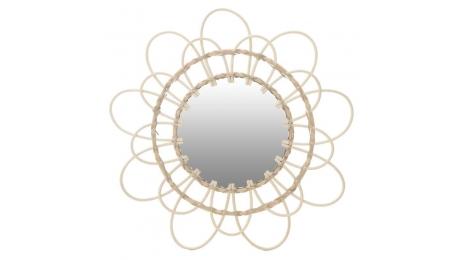 Καθρέφτης τοίχου  3-95-332-0001 ΡΑΤΤΑΝ NATURAL