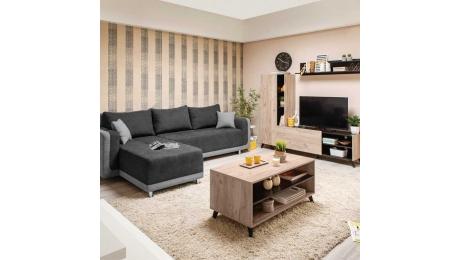Γωνιακός Καναπές-Κρεβάτι PRESTON