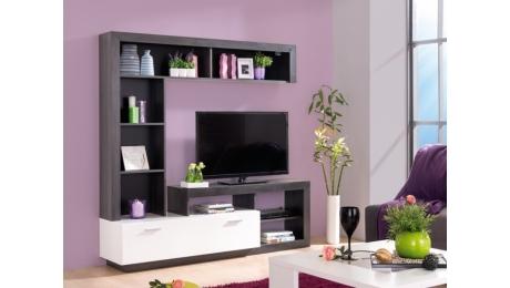 Σύνθεση τηλεόρασης GLEN WHITE-BLACK