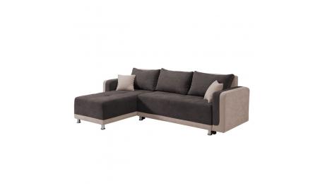 Γωνιακός Καναπές-Κρεβάτι PRESTON 263*167*83
