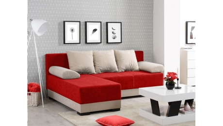 Γωνιακός Καναπές-Κρεβάτι INES