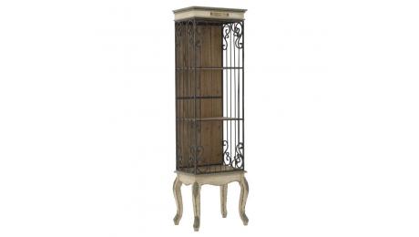 Ραφιέρα ξύλο με μέταλλο 3-50-102-0003