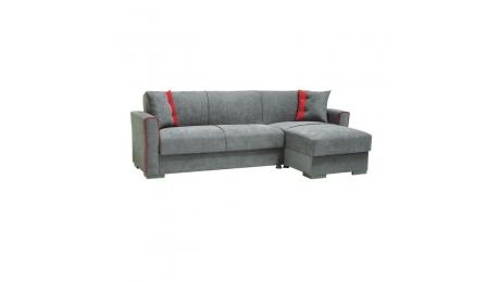 Γωνιακός Καναπές-Κρεβάτι EMILY