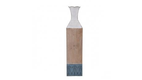 Μεταλλικό 161-92-005 Βάζο Δαπεδου 14x14x63cm