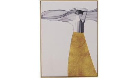 Πίνακας καμβας-printed 3-90-250-0003 60Χ2.5Χ80cm