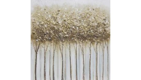 Πίνακας καμβας FOREST 108-92-911 60x3x60cm
