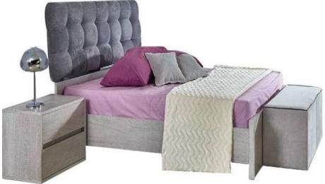 Διπλό Κρεβάτι FEDRA με Τάβλες