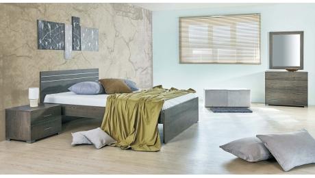 Διπλό Κρεβάτι IRIDA με Τάβλες