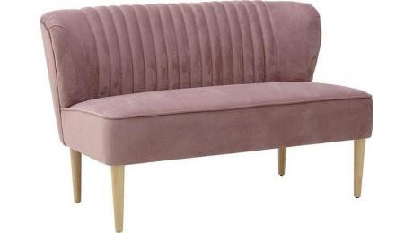Καναπές διθέσιος βελούδο ροζ 3-50-585-0014
