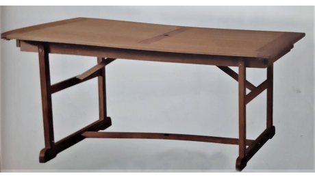 Τραπέζι MONASTERY Επεκτ. 180/230/280x100x74cm