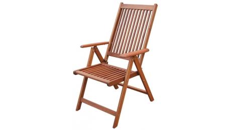 Πολυθρόνα ξυλινη Πτυσ/νη 5θ 210900