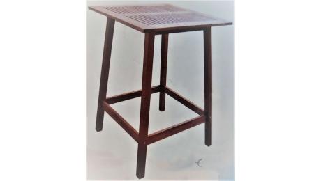 Tραπέζι Bar Ξύλινο 92527 75x75x106,5cm