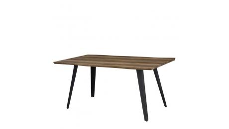 Τραπέζι ξύλινο με μεταλλικά πόδια 1417 160x90cm