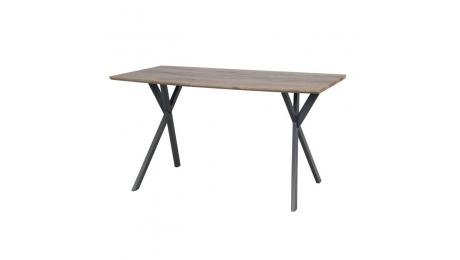 Τραπέζι με μεταλλικά πόδια T-1095 160x90cm