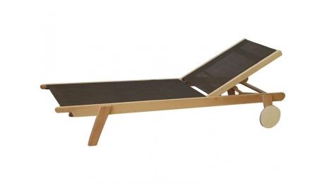 Ξαπλώστρα ξυλινη LEONE